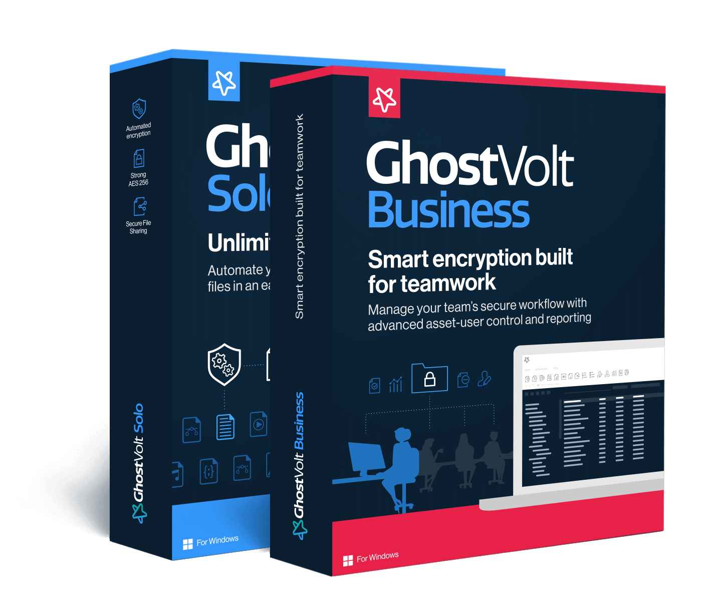 GhostVolt Solo and Business free trial.