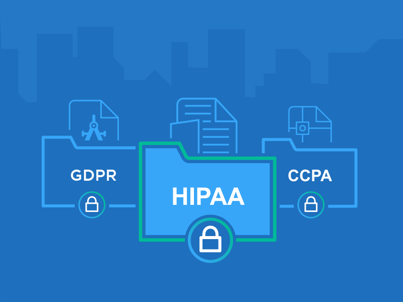 GhostVolt can help you comply with privacy and data regulation like HIPPA, GDPR and CCPA.